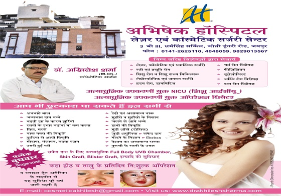 Plastic Surgeon In Jaipur Cosmetic And Laser Treatment Doctor In